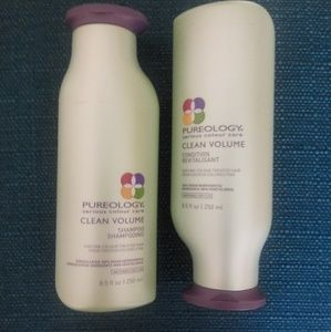 Pureology clean volume shampoo and conditioner set